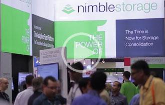 nimble storage at vmworld